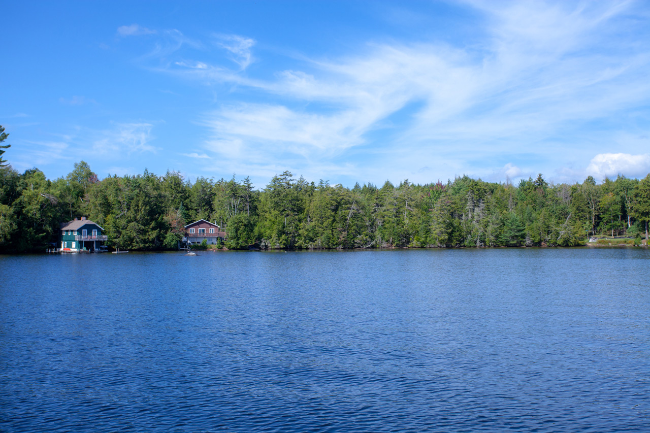 Rainbow Lake Lakefront Property Adirondack
