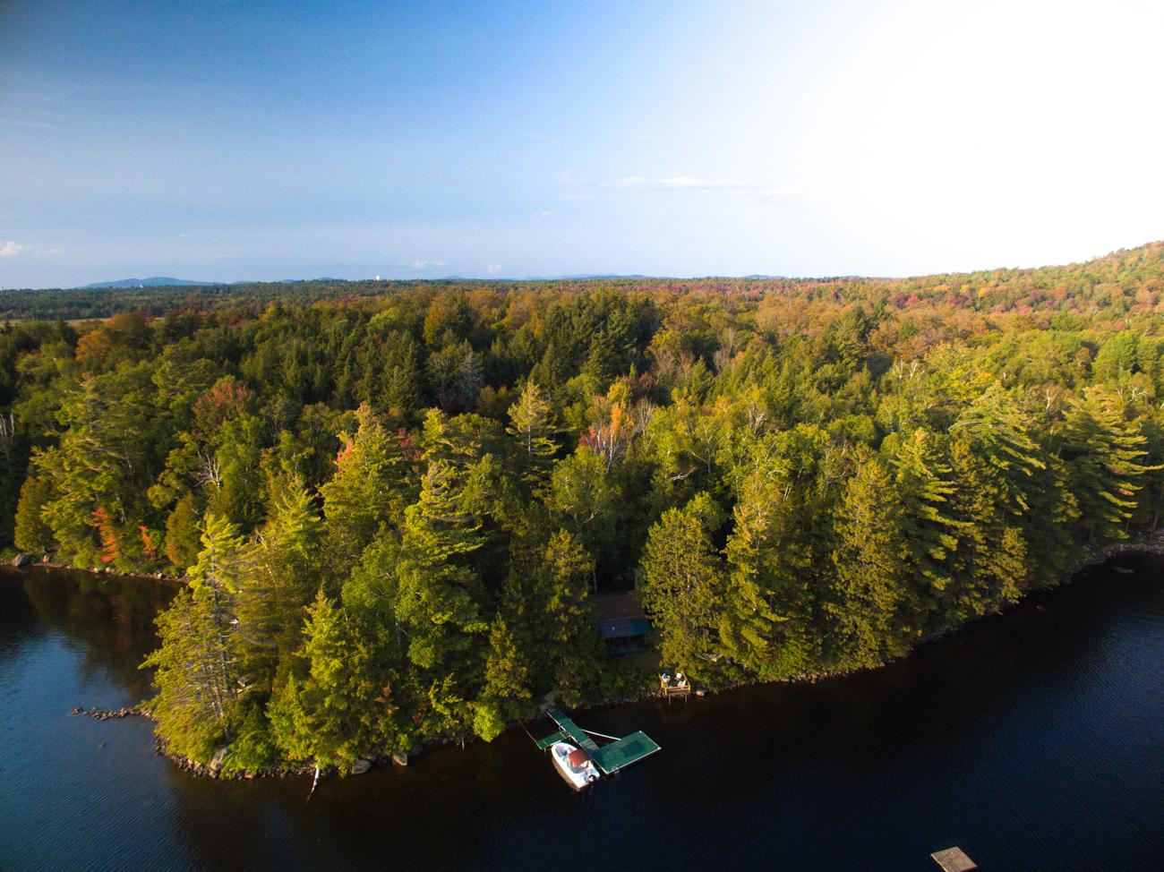 Rainbow Lake Waterfront Cabin