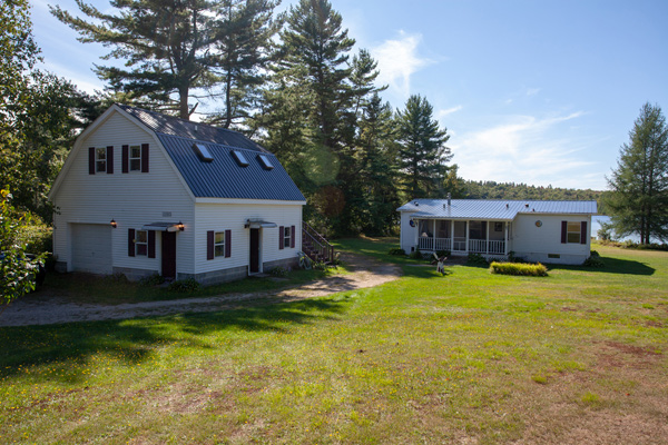 Adirondack Properties, Waterfront Home