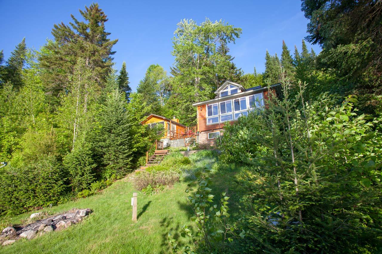 Rainbow Lake Waterfront Property