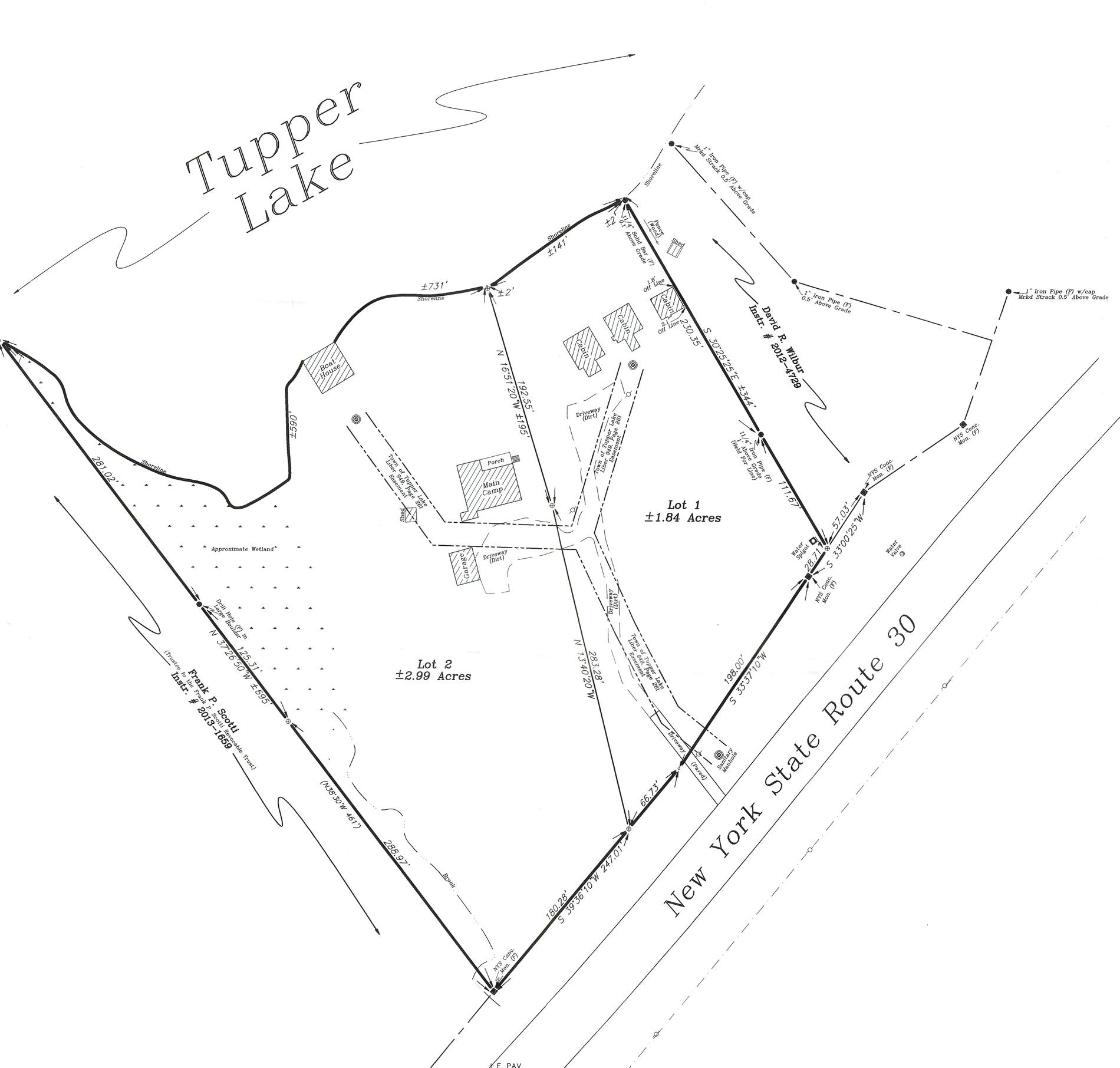 Tupper Lake Lakefront Cottages