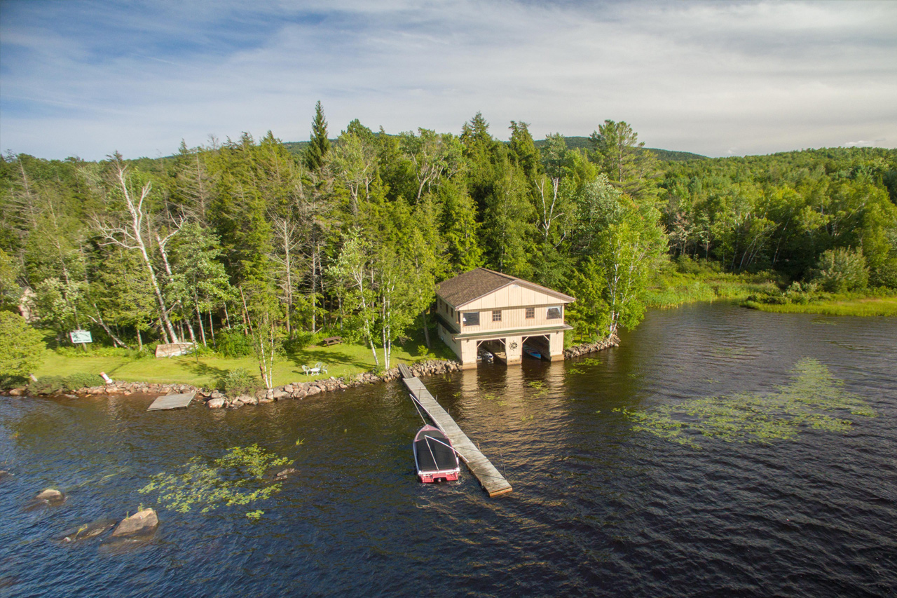 tupper Lake waterfront properties